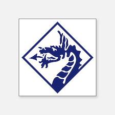 """XVIII Corps - WWII Square Sticker 3"""" x 3"""""""