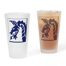 XVIII Corps - Post WWII Drinking Glass