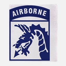 XVIII Corps - Airborne Throw Blanket