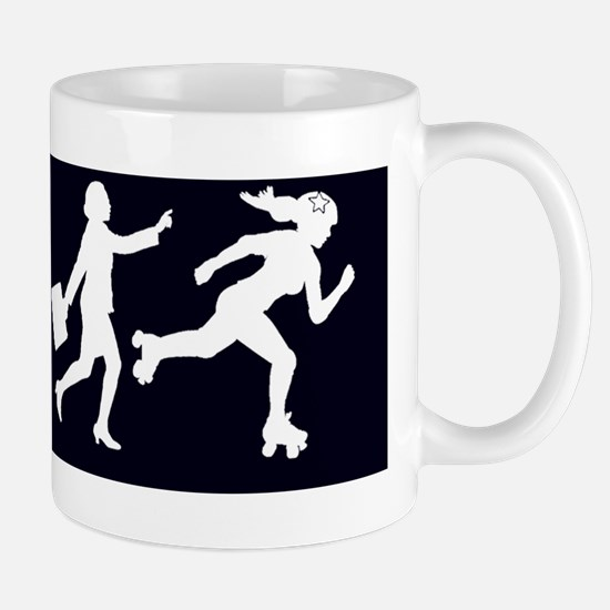 DERBY_GIRL_EVOLUTION_10x3_sticker Mug