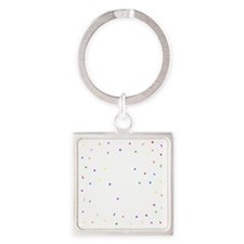 Changing Lives Dark Square Keychain