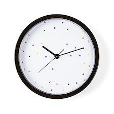 Changing Lives Dark Wall Clock