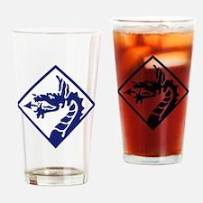 XVIII Corps - WWII Drinking Glass