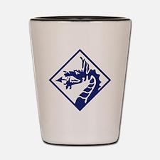 XVIII Corps - WWII Shot Glass
