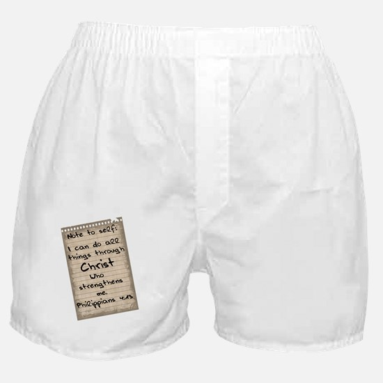 note Boxer Shorts