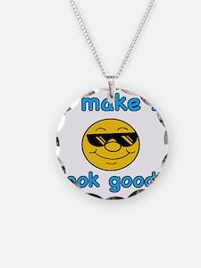 LookGoodb1 Necklace Circle Charm
