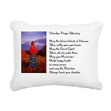 Chekoree prayer8x6 Rectangular Canvas Pillow