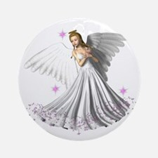 Angelic Glory Ornament (Round)
