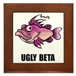 Ugly Beta Framed Tile