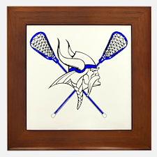 CurtisLaCrosse - Larger Viking Framed Tile