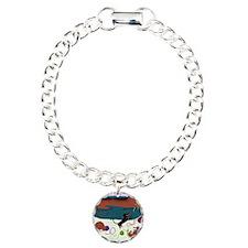 KnittingDachshundPrint Bracelet