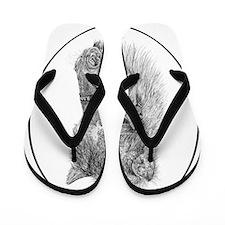 RalphieOvaltrans Flip Flops