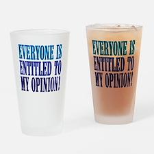 myopinion Drinking Glass