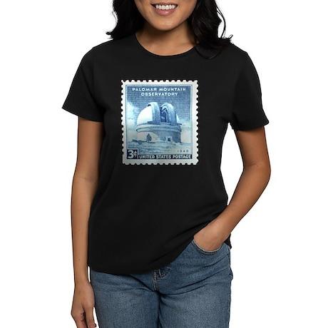 Mount Palomar Women's black Astronomy T-Shirt