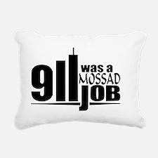 911mossad Rectangular Canvas Pillow