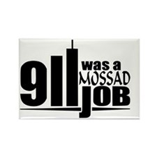 911mossad Rectangle Magnet