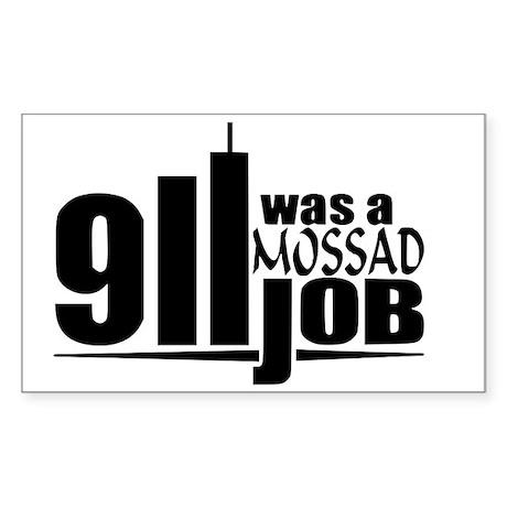 911mossad Sticker (Rectangle)