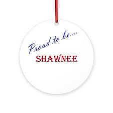 Shawnee Ornament (Round)