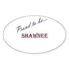 Shawnee Oval Decal