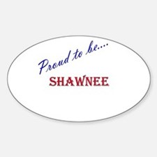 Shawnee Oval Decal