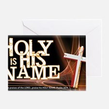 holy_name_trans Greeting Card
