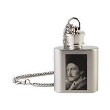 ezrapound1913 Flask Necklace