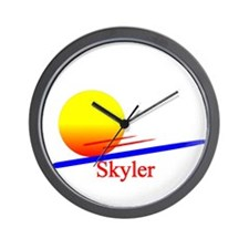 Skyler Wall Clock