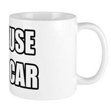 BECAUSERACECAR Mug
