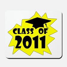 Graduation Class of 2011 3 yellow Mousepad