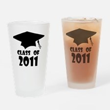 Graduation Class of 2011 4 Drinking Glass