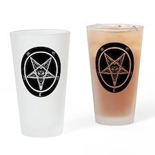 satan goat pentagram sigil of bapho Drinking Glass
