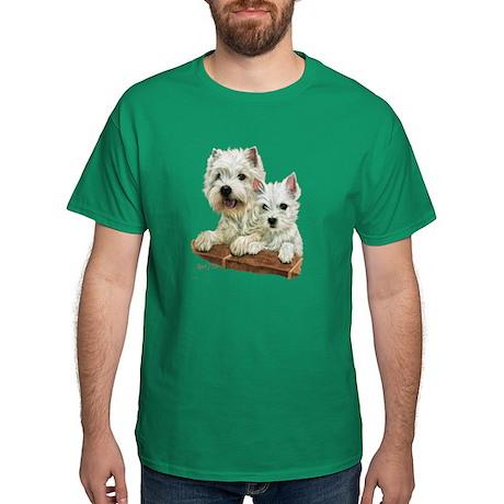 West Highland White Terrier Dark T-Shirt