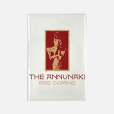 The Annunaki Are Coming Rectangle Magnet