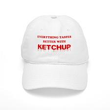 ketchupred Baseball Cap