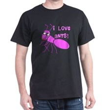 I love ants PINK T-Shirt