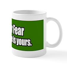 Love-Or-Fear-Bumper-Sticker Mug