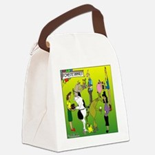 8325_zoology_cartoon Canvas Lunch Bag
