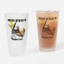 CDR uncle ARMY Drinking Glass