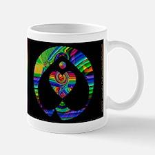 Fractal Rainbow Valentine Mug