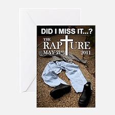 RaptureT02 Greeting Card
