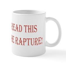 missed the rapture bs Mug