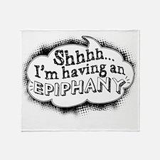 Epiphany_black Throw Blanket