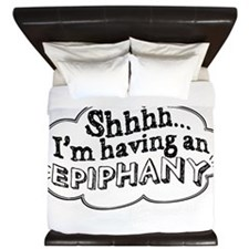 Epiphany_white King Duvet