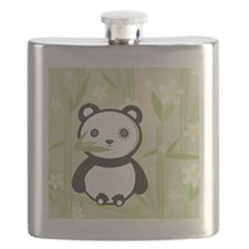 Bamboo Panda  Flask