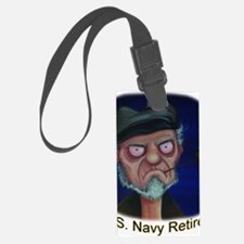 Old Salt Navy Retired Luggage Tag