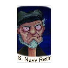 Old Salt Navy Retired Decal