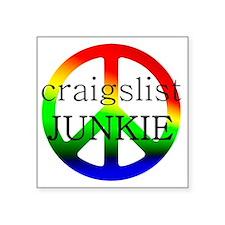 "CraigslistJukie2 Square Sticker 3"" x 3"""