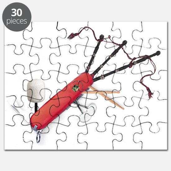 Swiss Pipe Band Army Knife Puzzle