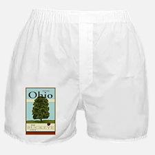 Travel Ohio Boxer Shorts