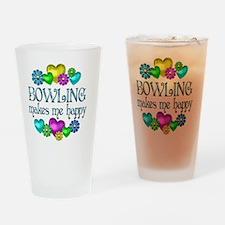 BOWLING Drinking Glass